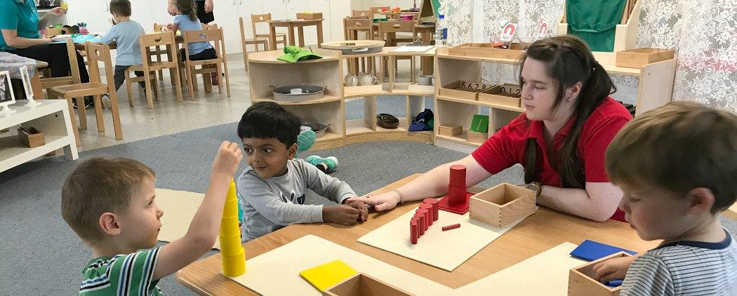 Montessori Brooklyn Park kindergarten