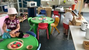 3 year old kindy pretend play