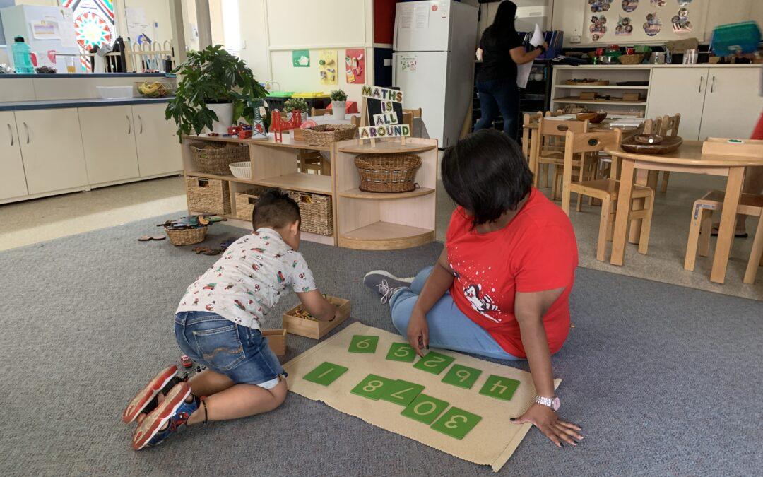 Promoting your Pre-schooler's Mathematical Development